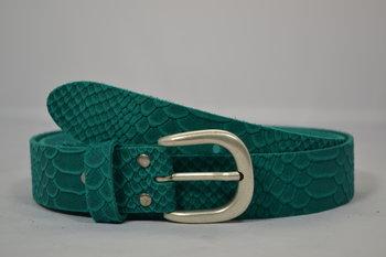 Dames riem Turquoise 3,5 cm - 035