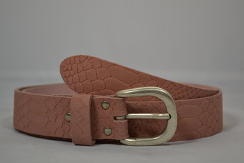 Dames riem Oud-roze 3,5 cm - 035