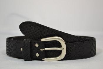 Dames riem Zwart 3,5 cm - 035