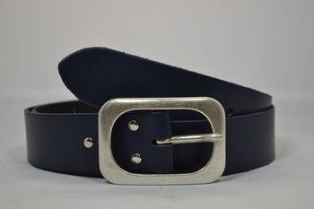 Donker blauwe riem 4 cm - 5057