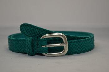 Turquoise riem 2cm - 20664