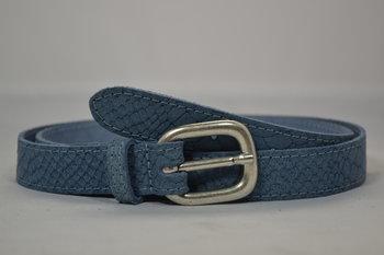 Lichtblauwe riem 2cm - 20664