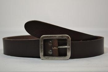Bruine riem 3,5 cm - 35142