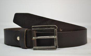 4 cm Jeansriem bruin - 40900