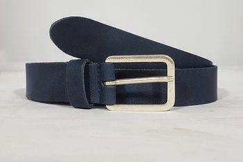 Blauwe riem 3,5 cm - 35181